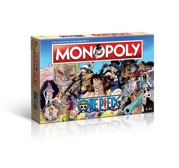 One Piece Monopoly Brettspiel Deutsche Version