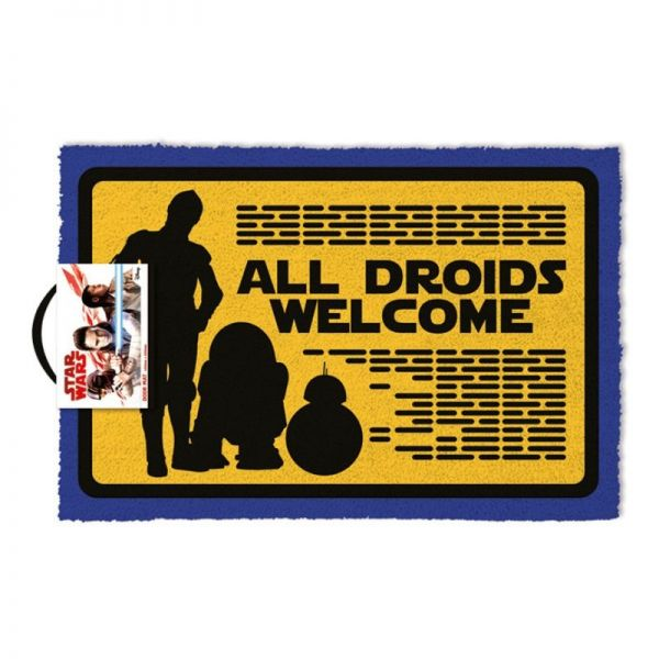 Star Wars All Droids Welcome Fußmatte