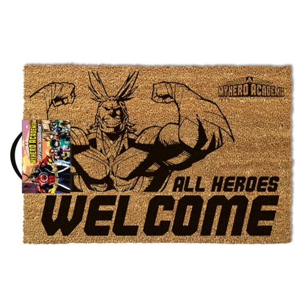 My Hero Academia (All Heroes Welcome) Fußmatte