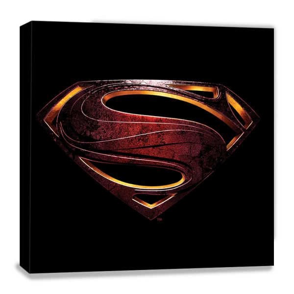 Justice League: Movie (Superman Logo), Leinwanddruck