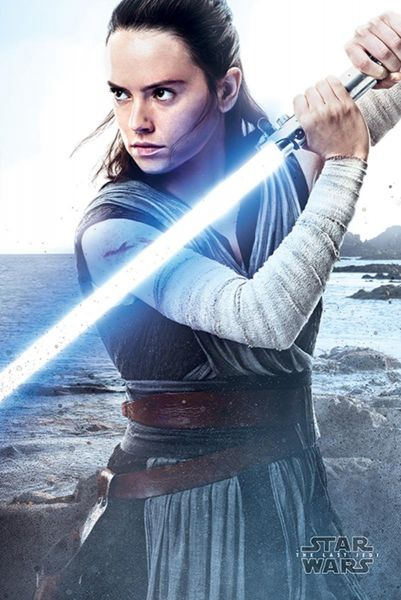 Star Wars: The Last Jedi (Rey Engage), Maxi Poster