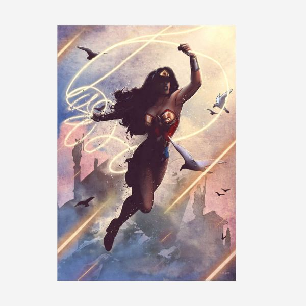 Wonder Woman DC Comics Klassiker – Metall Poster