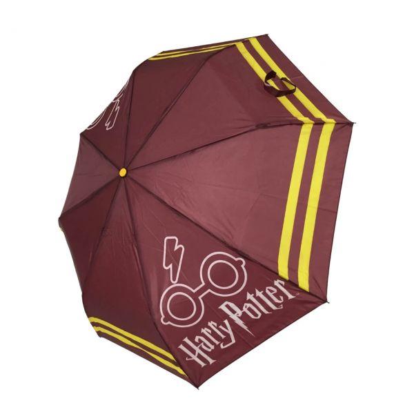 Regenschirm bordeauxrot Harry Potter
