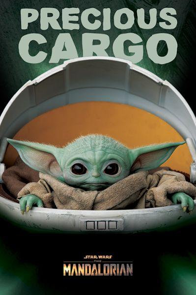 Precious Cargo The Mandalorian Maxi Poster Star Wars