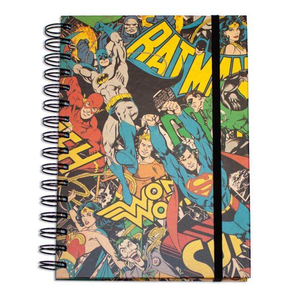 Justice League A5 Notizbuch DC Comics