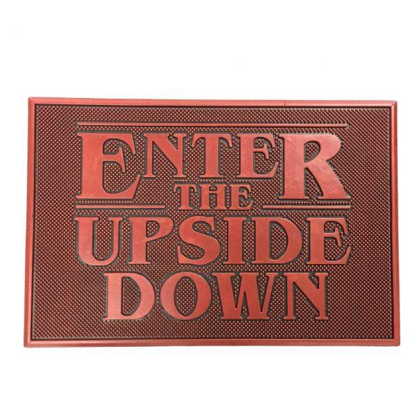 Enter the Upside Down Gummi Fußmatte Stranger Things