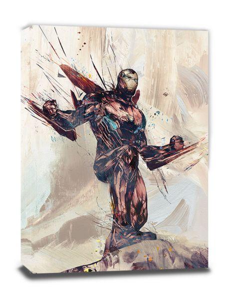 Avengers: Infinity War (Iron Man Sketch), Leinwandbild
