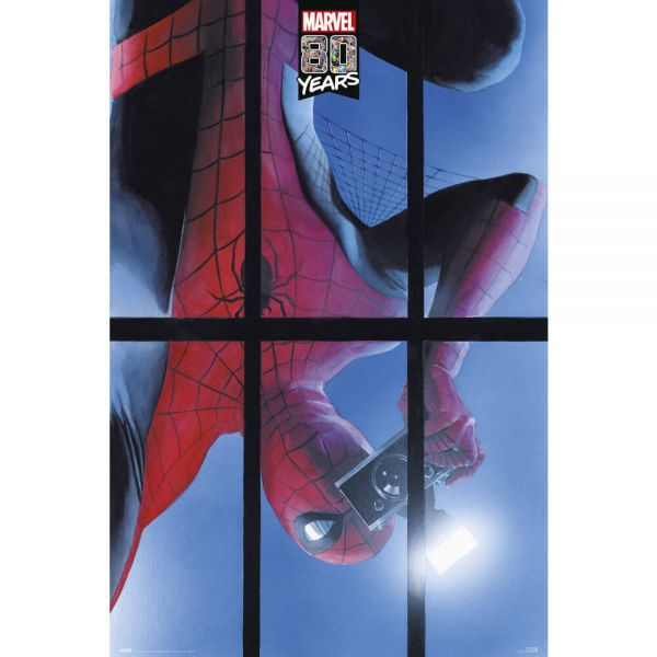 Spider-Man 80 Jahre Marvel Maxi Poster