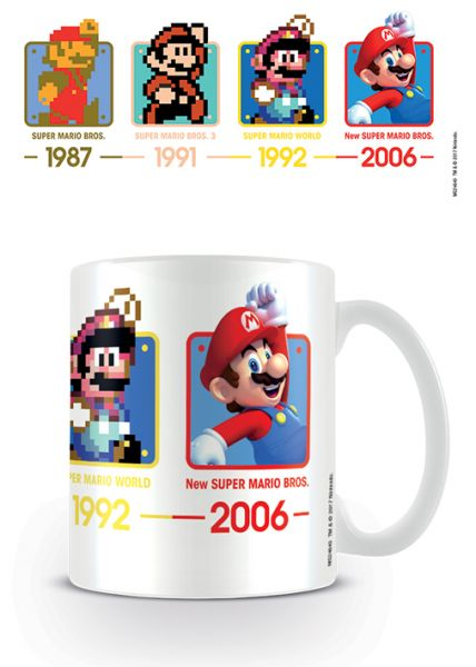 Nintendo: Super Mario (Termine), Tasse