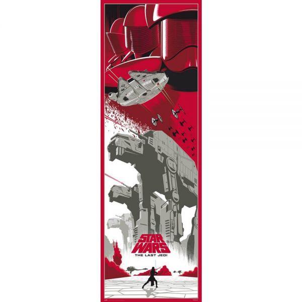 Episode VIII Die letzten Jedi Tür Poster Star Wars