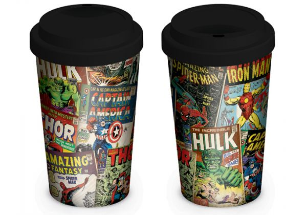 Marvel Retro (Covers), To Go Becher