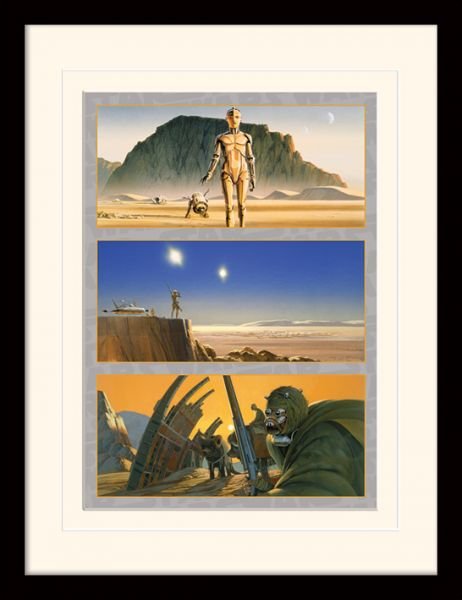 Star Wars: Tatooine (The Saga Begins), Gerahmt