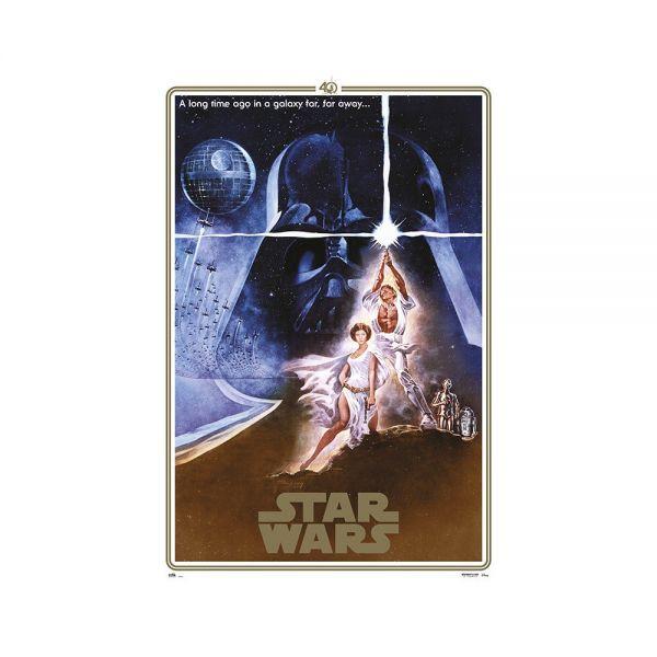 Star Wars (40 Jähriges Jubiläum) One Sheet – Maxi Poster