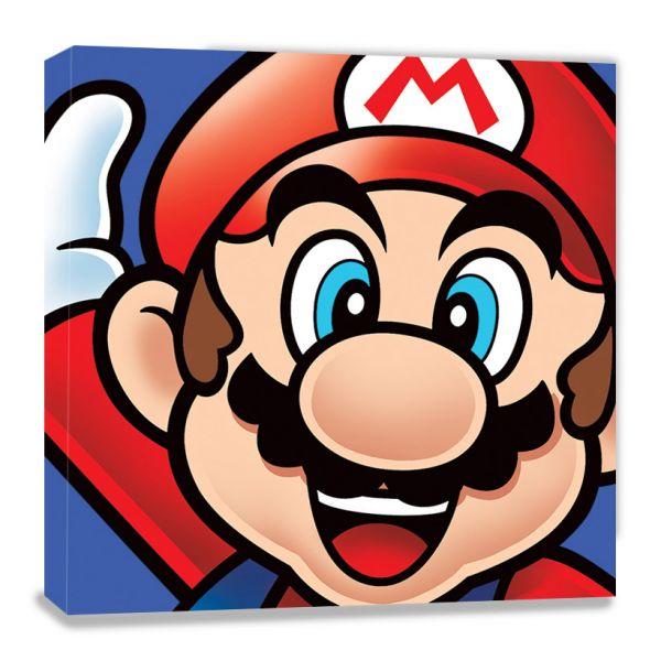 Super Mario, Nintendo, Leinwanddruck