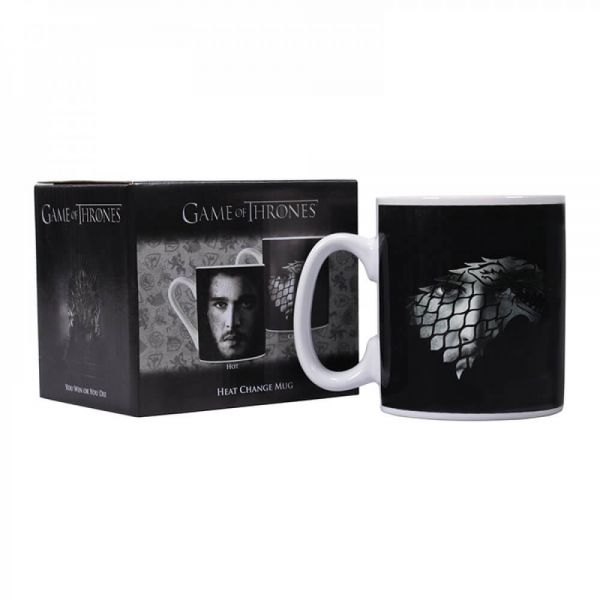 Jon Snow Haus Stark Thermoeffekt Tasse Game of Thrones