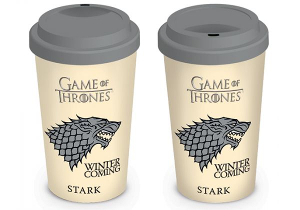 Game Of Thrones: Winter Coming (House Stark), To Go Becher