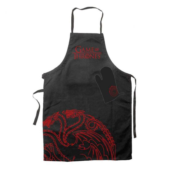 Targaryen Kochschürze mit Handschuh Game of Thrones