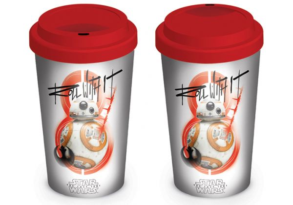 Star Wars: The Last Jedi (BB-8 Roll With It), To Go Becher