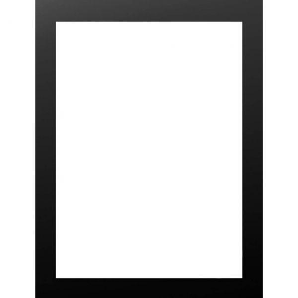 MDF Bilderrahmen schwarz für Kunstdruck 30 x 40 cm