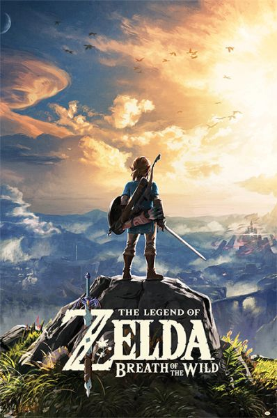 The Legend Of Zelda – Breath Of The Wild (Sunset) Maxi Poster