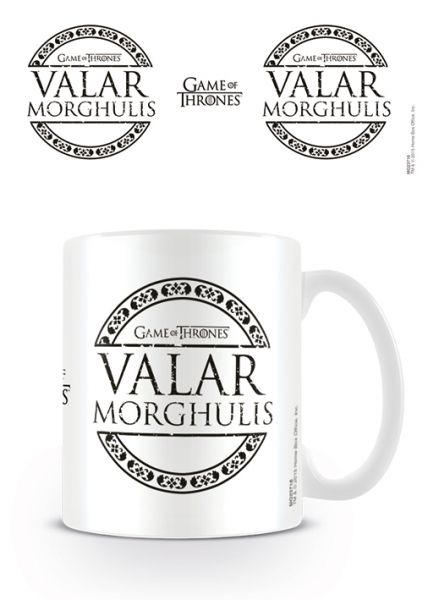 Valar Morghulis Tasse Game of Thrones
