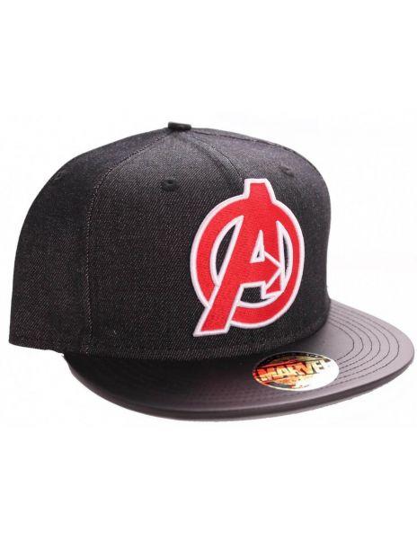 Avengers Logo Snapback Cap Marvel