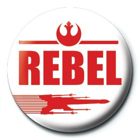 Rebel Button Star Wars
