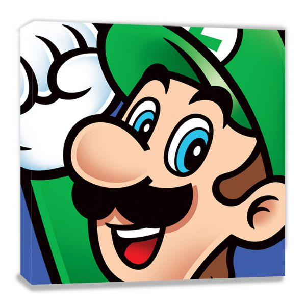 Super Mario: Luigi, Nintendo, Leinwanddruck