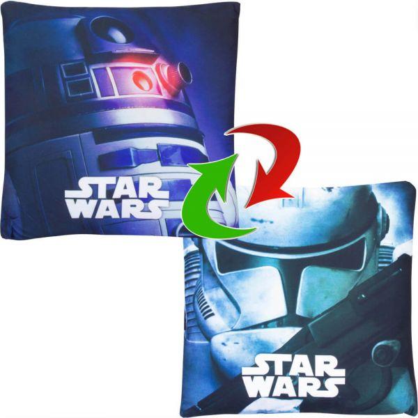 R2-D2 Clone Trooper Wendekissen gefüllt Star Wars