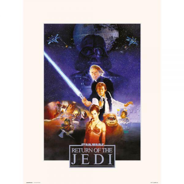 Return of the Jedi Kunstdruck Star Wars