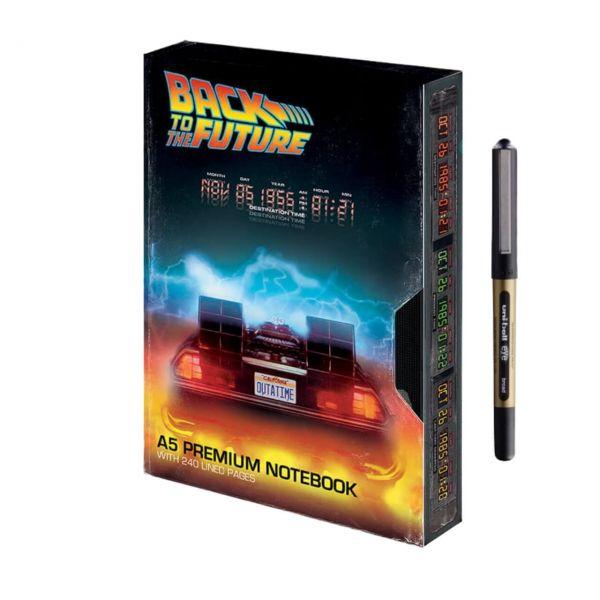Great Scott Premium Notizbuch-Set Zurück in die Zukunft