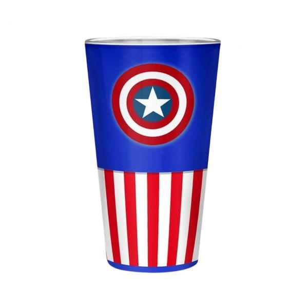 Captain America Classic XXL Glas Marvel