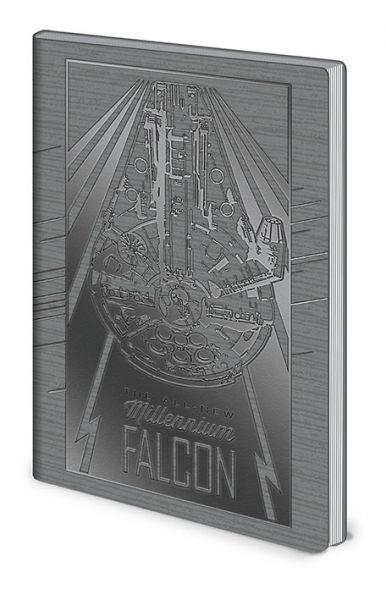 Solo: A Star Wars Story (Millenium Falcon), Notizbuch A5