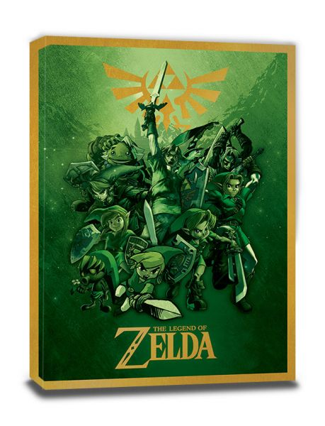 Link The Legend of Zelda Leinwandbild Nintendo