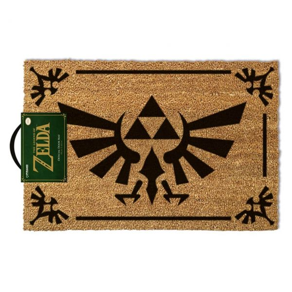 The Legend of Zelda (Triforce Schwarz) Fußmatte