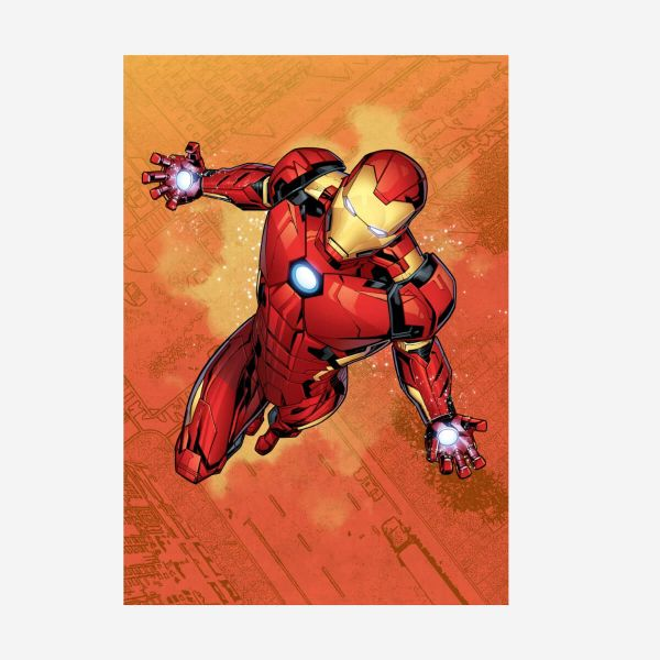 Iron Man Mightiest Heroes – Metall Poster
