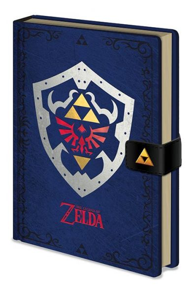 The Legend Of Zelda: Hylian Schild Premium Notizbuch