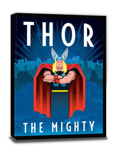 Marvel Deco (Thor), Leinwanddruck