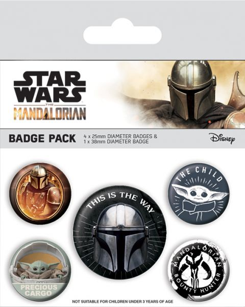 This Is The Way The Mandalorian Button-Set 5-teilig Star Wars