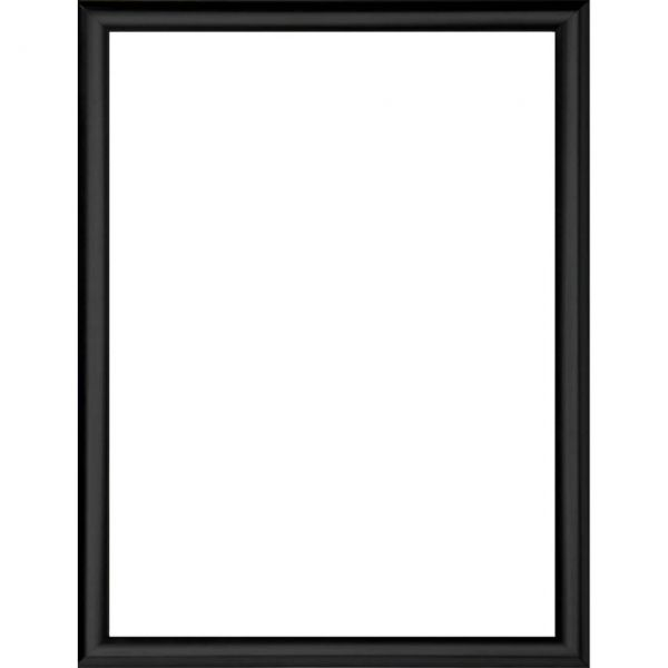 Bilderrahmen schwarz für Kunstdruck 30 x 40 cm
