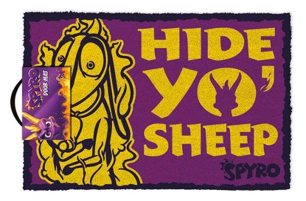 Hide Yo Sheep Fußmatte Spyro