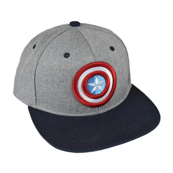 Captain America Logo Snapback Cap Marvel
