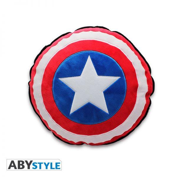 Captain America Schild rund Kissen Marvel