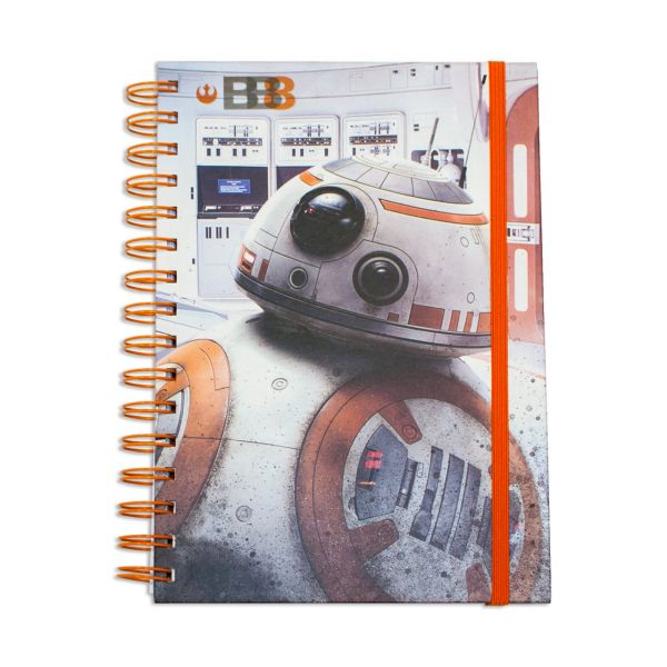 Star Wars: The Last Jedi BB-8 Notizbuch