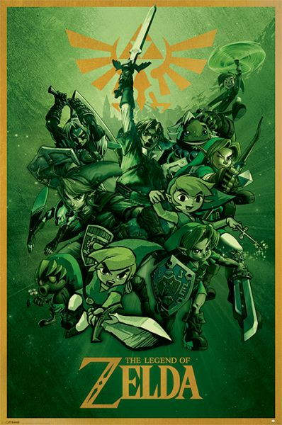 The Legend Of Zelda: Link, Maxi Poster