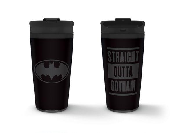 Straight Outta Gotham Batman To-Go-Becher DC Comics