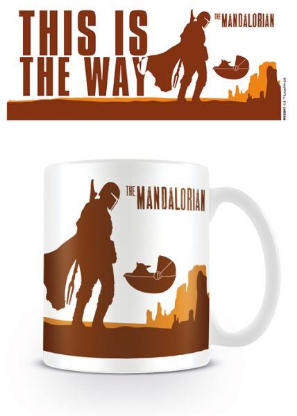 The Mandalorian This is the Way Mando Tasse Star Wars