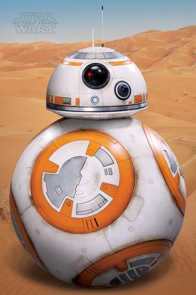 Star Wars: Episode VII (BB-8 Art), Maxi Poster