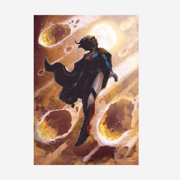 Supergirl DC Comics Klassiker – Metall Poster