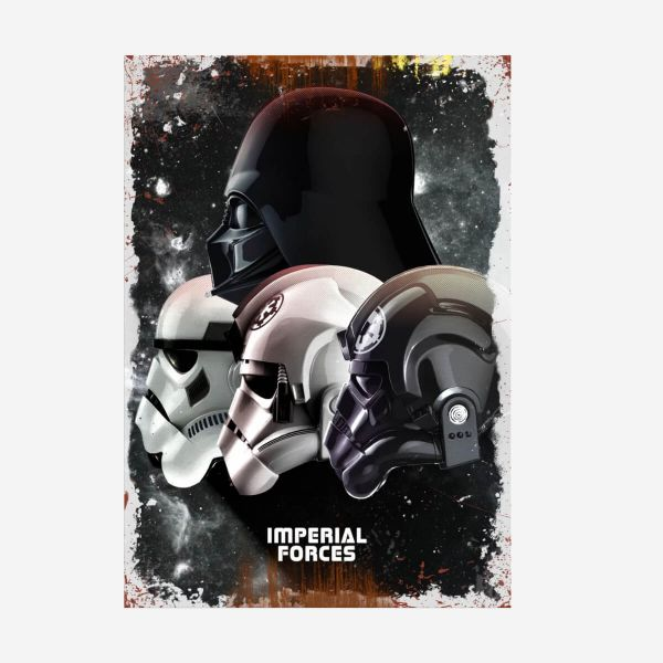Imperial Forces Metall Poster Star Wars